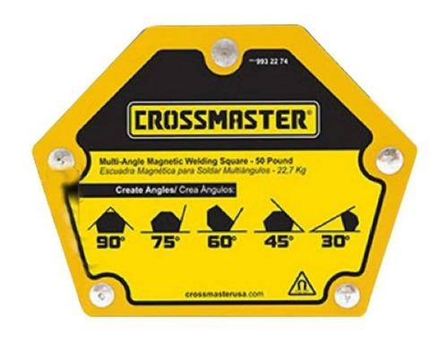 Escuadra Magnetica Para Soldar 23 Kg Crossmaster 9932274