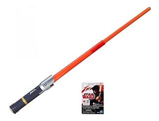 Star Wars Sable Sith Con Luz Rojo Hasbro