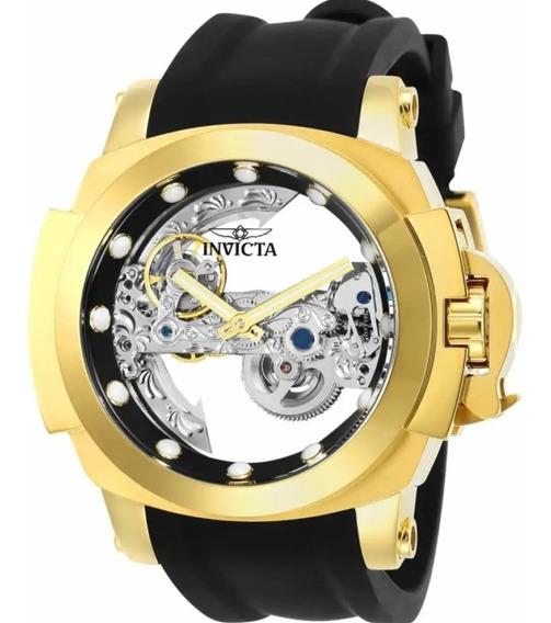 Relógio Invicta Coalitionforces Transparente 26760 -oferta