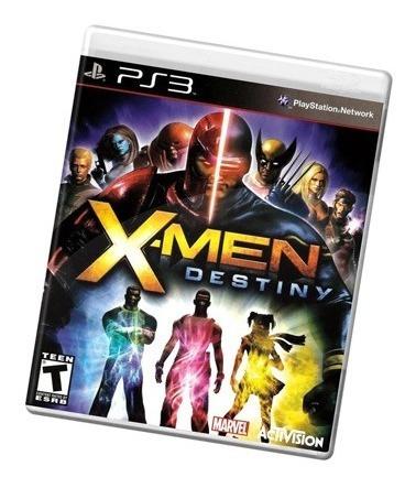Game X-men Destiny - Ps3 (novo Lacrado)