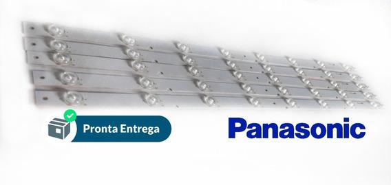 Kit Completo Barras Led Panasoni Tc - 55ex600b Originais