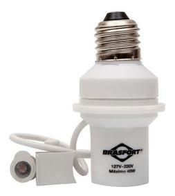 Sensor De Presenca Fotocélula Soquete E27