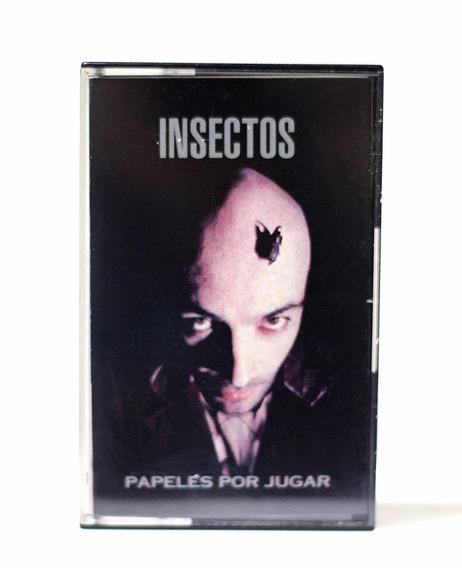 Cassette Punk Insectos Papeles Por Jugar Trípoli // Nuevo !