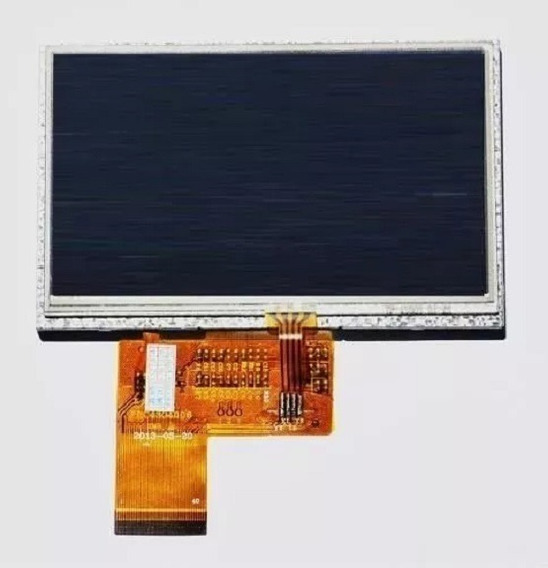 Tela Touch + Display Lcd Gps 7 Polegadas Foston Fs 3d717dc
