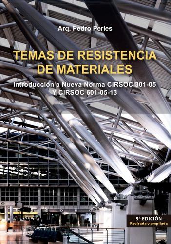 Imagen 1 de 2 de Temas De Resistencia De Materiales 5º Ed
