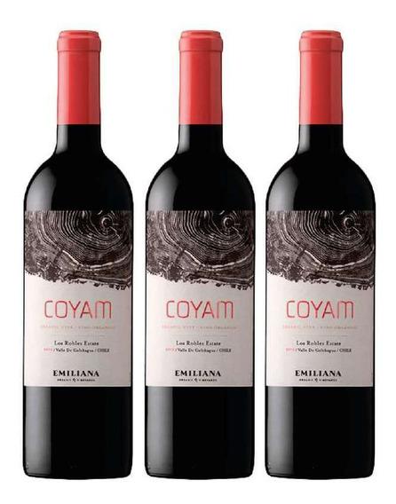 Emiliana Coyam, Ensamblaje, Ogánico. Pack 3 Botellas
