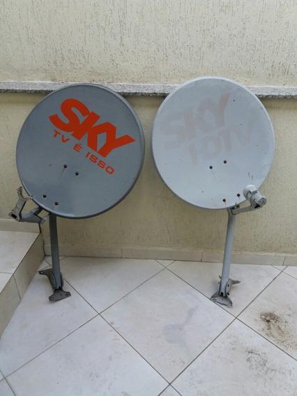 Mini Antenas Parabólicas Completas