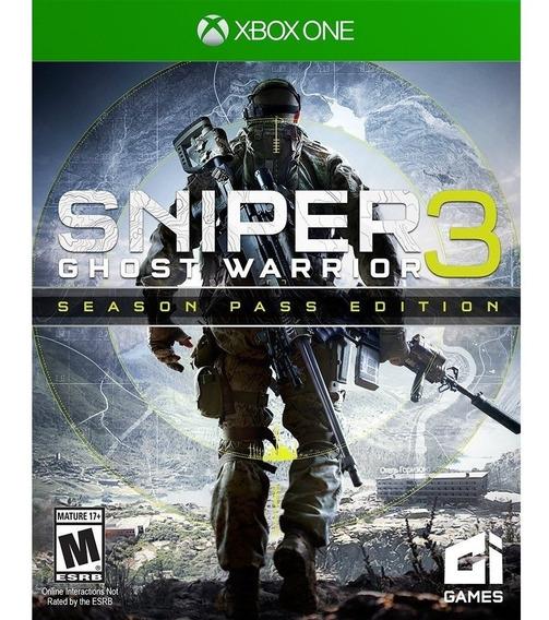 Sniper Ghost Warrior 3: Season Pass Edition Xbox One Lacrado