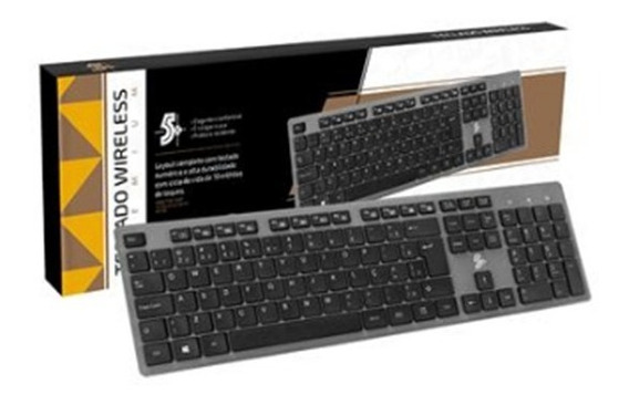 Teclado Wireless 2.4ghz Office Premium (sem Fio)