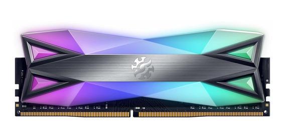 Memoria Ram 16gb Xpg Ddr4 D60g Rgb (2x8gb) 3000mhz Pc4-24000 U-dimm (ax4u300038g16-dt60)