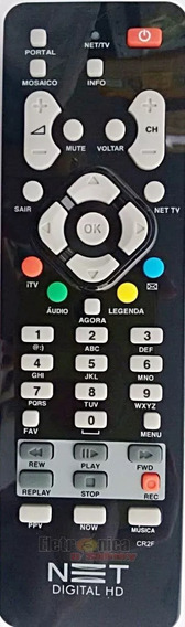Kit Com 15 Controles Net Hd Novos
