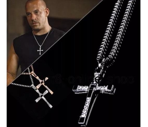 Colar Cordão Toretto Velozes E Furiosos Prata