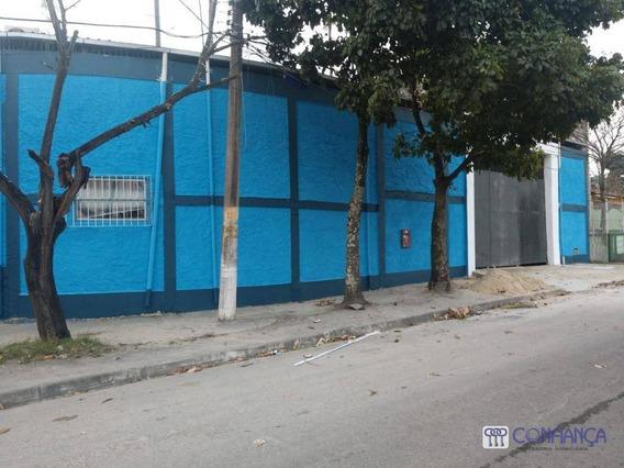 Galpão Para Alugar, 400 M² Por R$ 10.000/mês - Campo Grande - Rio De Janeiro/rj - Ga0023