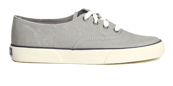 Tenis Sperry Mujer Gris Seacost Sts95728