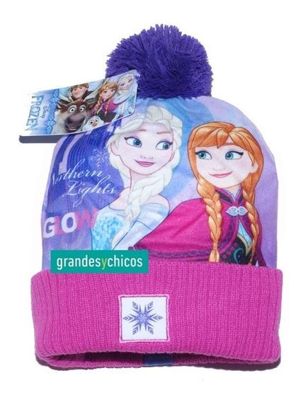 Gorro Frozzen Princesas Disney Original Lana Línea Premium