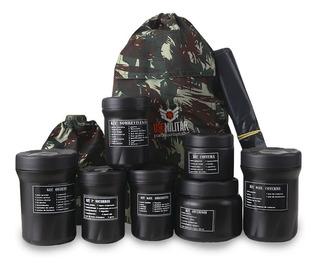 Kit Sobrevivência Use Militar + De 120 Itens | Original