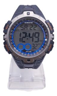 Reloj Kevingston Hombre Sumergible Kvn-1002 Agente Oficial