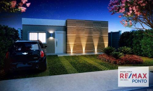 Casa À Venda, 75 M² Por R$ 283.000,00 - Mirante - Mogi Mirim/sp - Ca0039