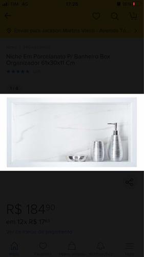 Imagem 1 de 5 de Nicho Para Banheiro