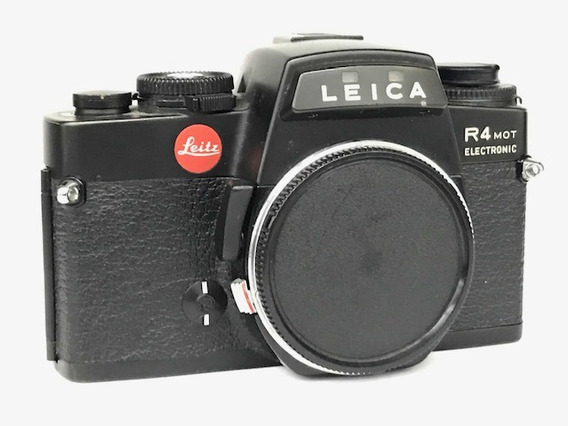 Câmera Leica R4 Mot Eletronic (corpo).