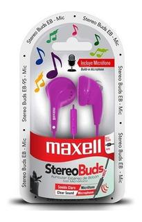 Audífono Maxell Con Micrófono Eb-05 Colores / Superstore