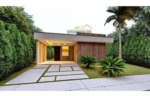 Imagem 1 de 1 de Casa Com 3 Dormitórios À Venda, 161 M² Por R$ 760.000 - Residencial Central Parque - Salto/sp - Ca1802