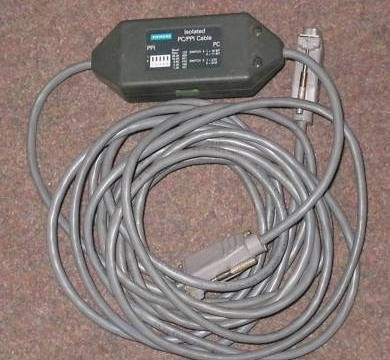 Siemens S7-200 6es7 901-3bf20-0xa0 Pc/ppi Original Siemens