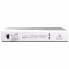Interface Firewire Behringer F-control Audio Fca202 - Ac0067