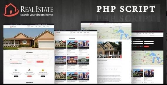 Script Real Estate - Site Para Imobiliária E Corretor
