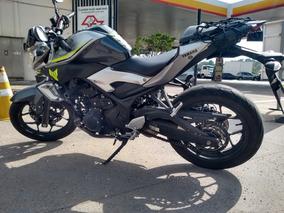 Yamaha Mt-03 Abs Cinza E Amarela Linda! Mt 03 Mt03