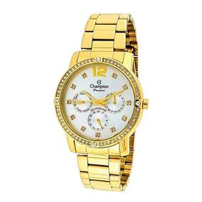 Relógio Feminino Champion Dourado