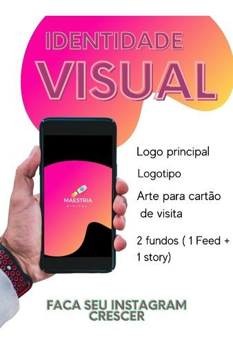 Imagem 1 de 5 de Logo Logotipo Logomarca - Identidade Visual Exclusiva