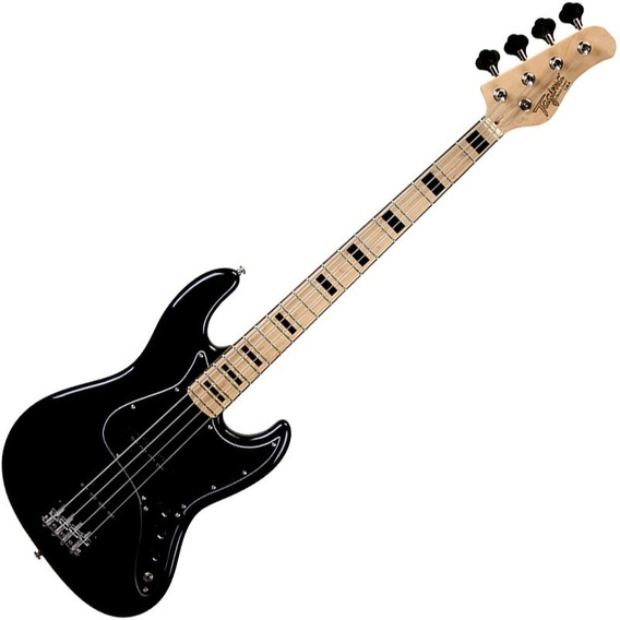 Contra Baixo Jazz Bass Tagima Tjb4 Preto 4 Cordas Passivo