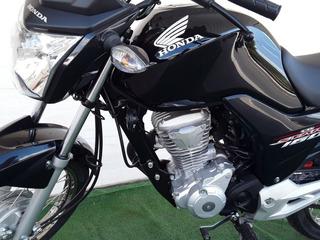 Honda Cg 160 Start 0-km Freios Cbs, Inj Eletr, Vd/tr/financ