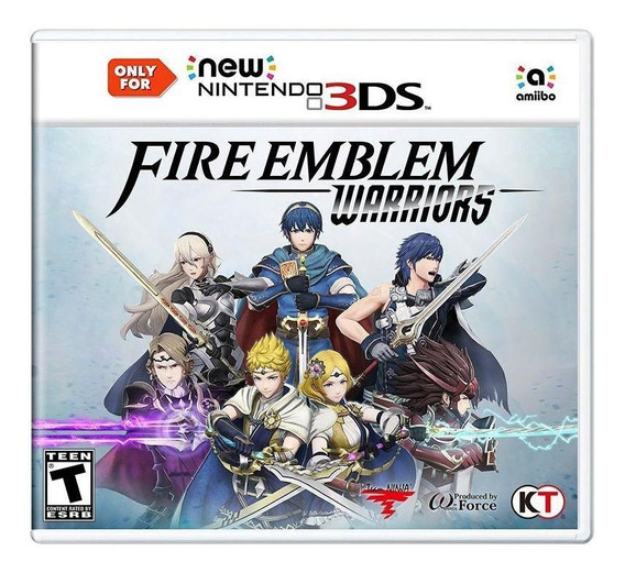 Fire Emblem Warriors New 3ds Mídia Física Novo Lacrado