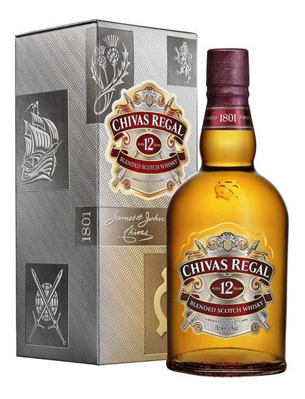 Chivas Regal 12 Años Whisky Escocés Botella 500 Ml + Estuche
