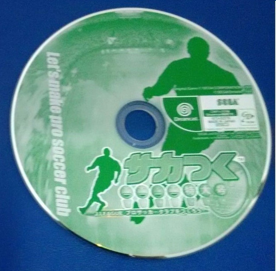 J.league Pro Soccer Tsukurou 2000 Original P/ Sega Dreamcast