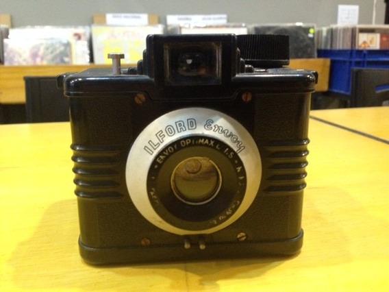 Camera Ilford Envoy Optmax Backelite Vintage - Funcionando