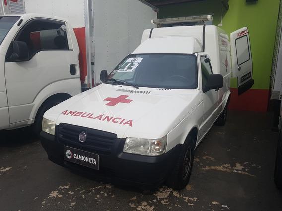 Fiat Fiorino Ambulância Com Ar E Direção 2013 1673 Km