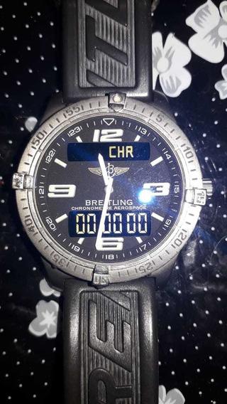 Relógio Breitling Evo Chronometre Aerospace 100m Original