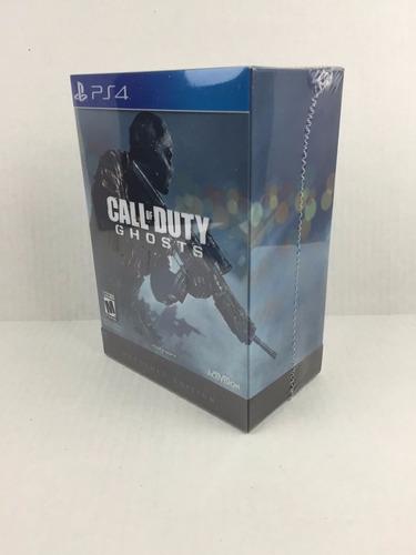 Call Of Duty Ghosts Hardened Edition Ps4 Nuevo Sellado