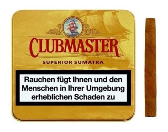 Cigarros Clubmaster Superior Sumatra X10 Cigarrillo Tabaco