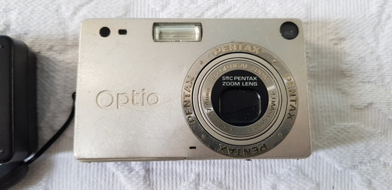 Camera Digital Compacta Pentax Optio S4 - Colecionador