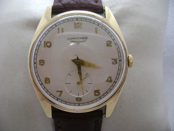 Reloj Longines De Cuerda, Suizo Vintage Original.