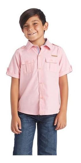 Camisa Refill Kids Rosa Pr-2656612