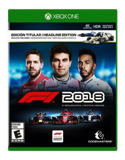 F1 2018 Formula 1 Xbox One Nuevo Y Sellado