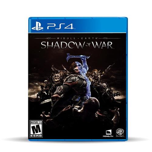 Middle Earth: Shadow Of War (nuevo) Ps4 Físico, Macrotec