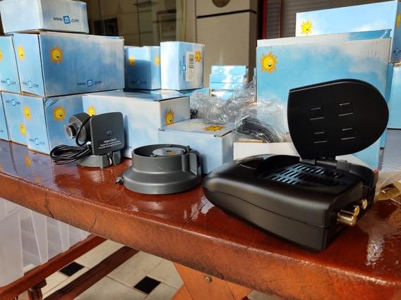 Kit Camera Wifi + Receptor S Som + Suporte Para Bateria- X10
