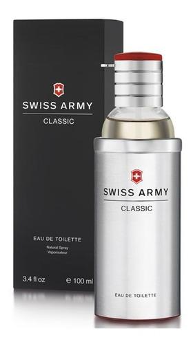 Imagen 1 de 2 de Perfume Caballero Marca Swiss Army Clasico 100 Ml Original
