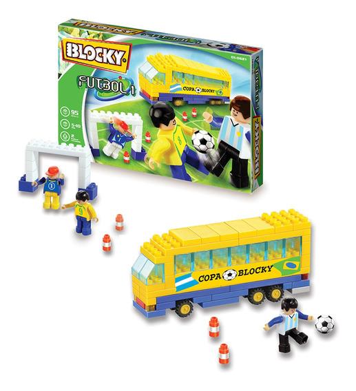 Blocky Futbol 1 Con 90 Piezas Original